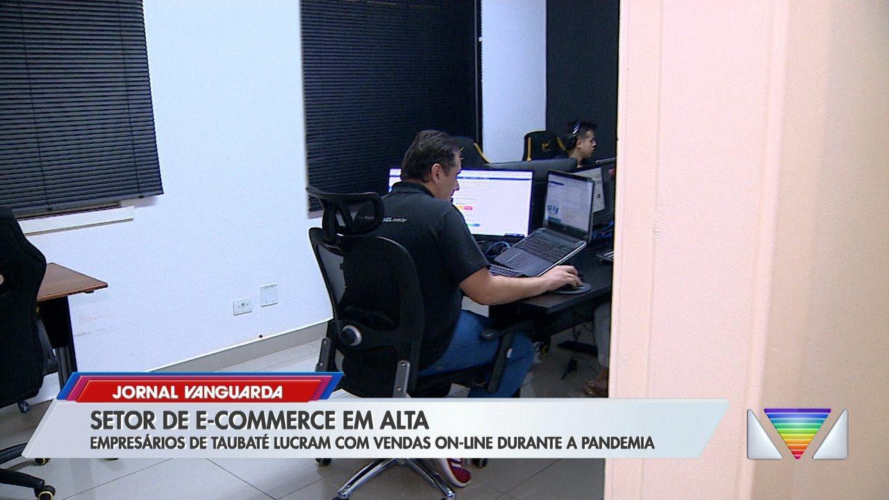 Jornal Vanguarda Empresários sentem aumento nas vendas online durante a quarentena em Taubaté